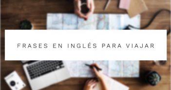 Frases en ingles para viajar