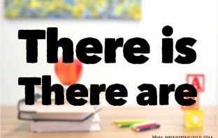 there is y there are