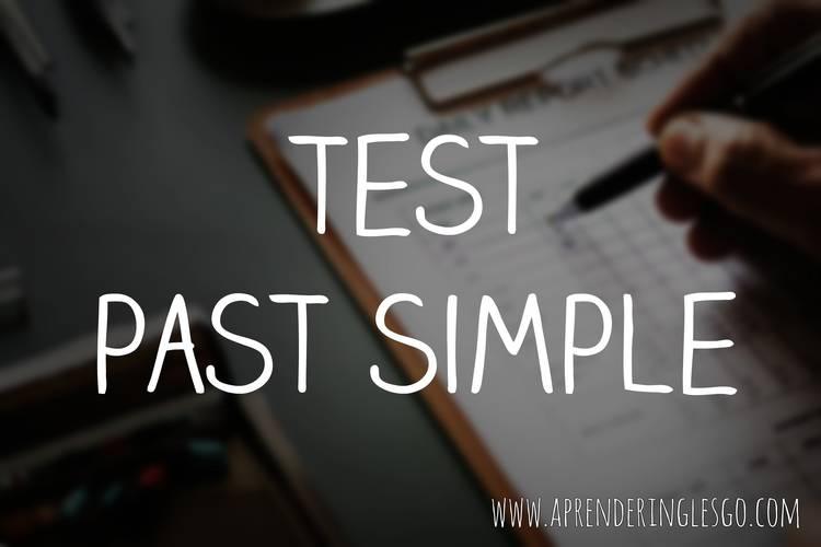 test past simple
