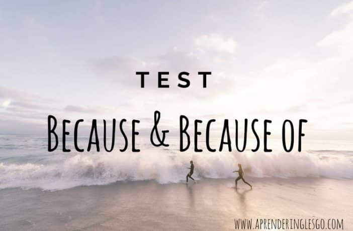 test because y because of