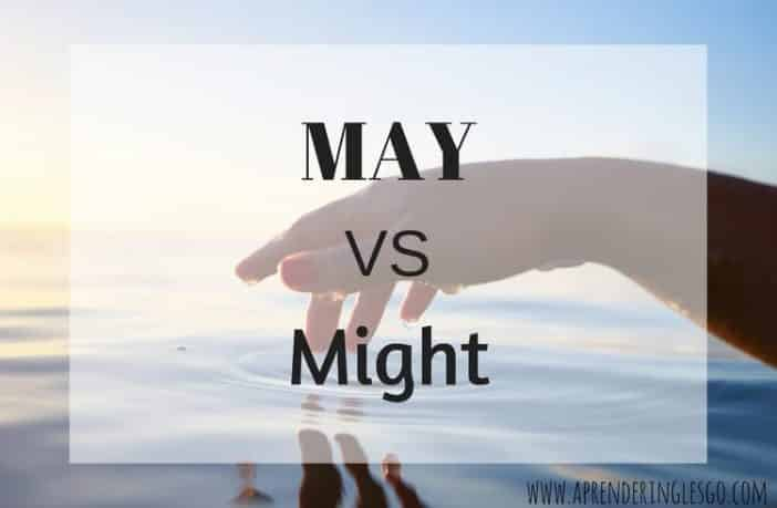 may y might - diferencia