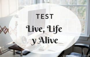 Test LIVE, LIFE y ALIVE - Ejercicios para practicar