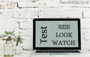 Test SEE, LOOK y WATCH - Ejercicios para practicar