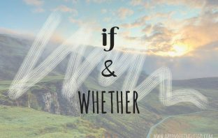 if y whether