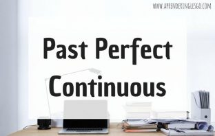 Past Perfect Continuous