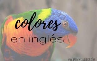 Colores en inglés