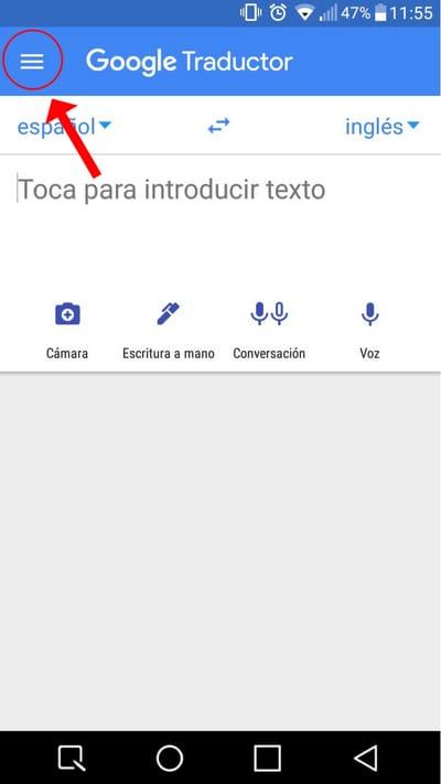 descargar traductor inglés para android 8