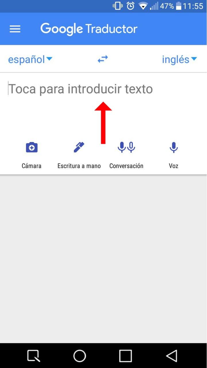 descargar traductor inglés para android 11
