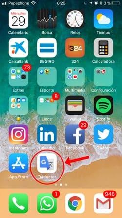 descargar traductor inglés para iOS 4