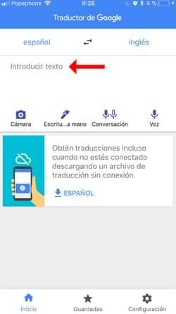 descargar traductor inglés para iOS 5