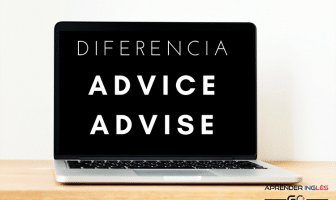 Diferencia de uso entre ADVICE y ADVISE en inglés y español