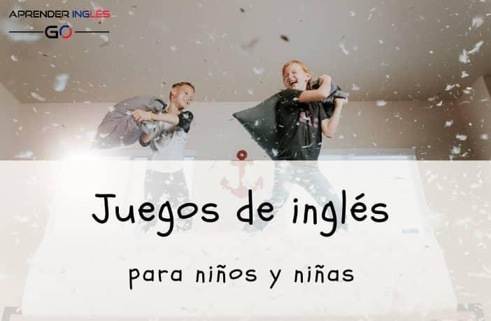 juegos de inglés para niños
